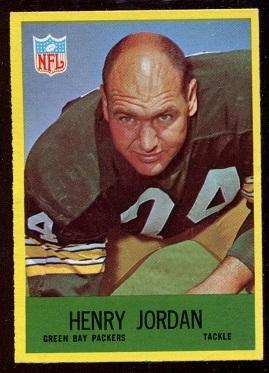 1967 Philadelphia #78 - Henry Jordan - nm