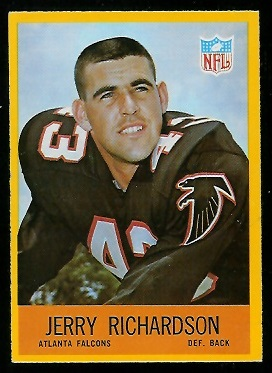 1967 Philadelphia #8 - Jerry Richardson - exmt