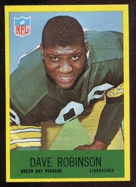 1967 Philadelphia #80 - Dave Robinson - exmt