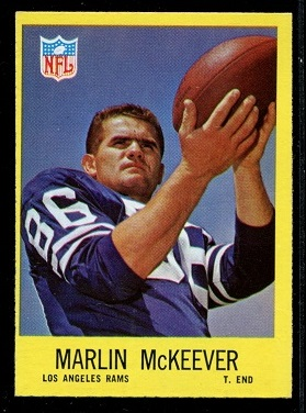 1967 Philadelphia #92 - Marlin McKeever - nm oc