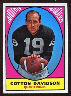 1967 Topps #107 - Cotton Davidson - nm
