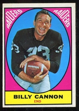 1967 Topps #109 - Billy Cannon - exmt