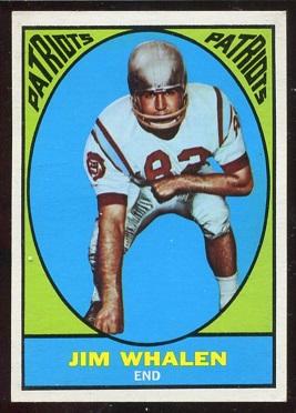 1967 Topps #11 - Jim Whalen - ex+