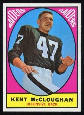 1967 Topps #112 - Kent McCloughan - ex+