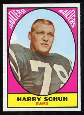 1967 Topps #115 - Harry Schuh - nm