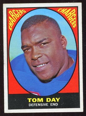 1967 Topps #117 - Tom Day - ex