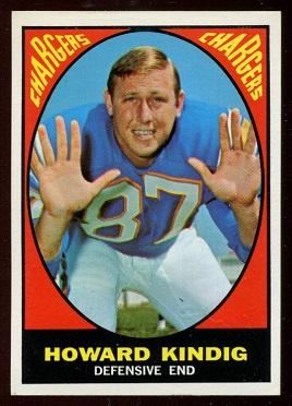 1967 Topps #127 - Howard Kindig - nm+