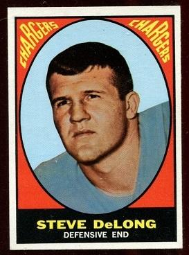 1967 Topps #128 - Steve DeLong - nm