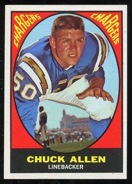 1967 Topps #129 - Chuck Allen - nm
