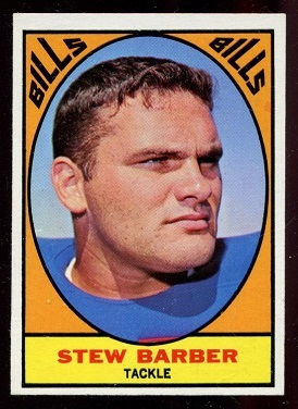 1967 Topps #18 - Stew Barber - nm