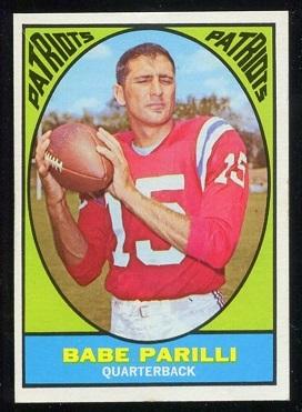 1967 Topps #2 - Babe Parilli - vg-ex