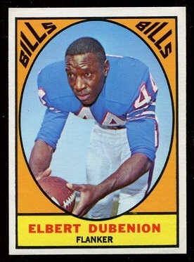 1967 Topps #20 - Elbert Dubenion - nm