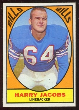 1967 Topps #23 - Harry Jacobs - nm