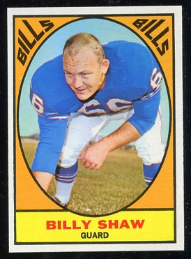 1967 Topps #28 - Billy Shaw - nm+