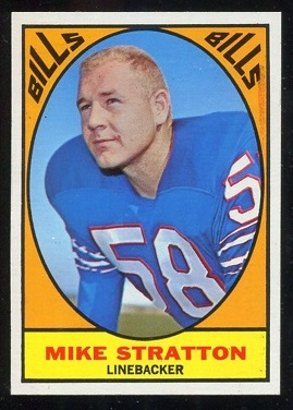 1967 Topps #29 - Mike Stratton - nm