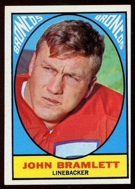1967 Topps #38 - John Bramlett - nm