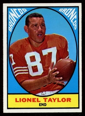 1967 Topps #42 - Lionel Taylor - nm+