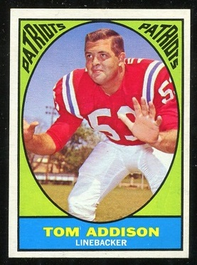 1967 Topps #5 - Tommy Addison - nm+