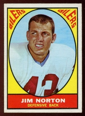 1967 Topps #52 - Jim Norton - nm