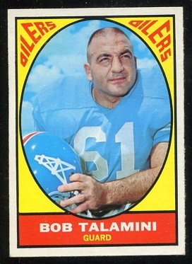 1967 Topps #54 - Bob Talamini - ex+