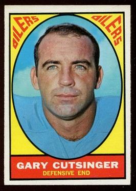 1967 Topps #56 - Gary Cutsinger - nm