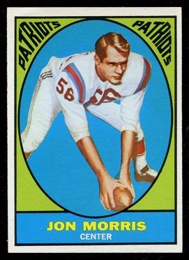 1967 Topps #6 - Jon Morris - nm
