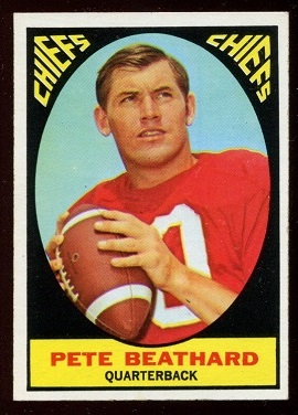 1967 Topps #60 - Pete Beathard - nm