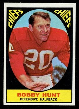 1967 Topps #62 - Bobby Hunt - nm