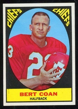 1967 Topps #63 - Bert Coan - nm