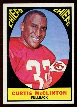 1967 Topps #64 - Curtis McClinton - nm