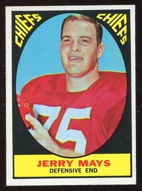 1967 Topps #67 - Jerry Mays - nm