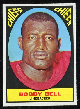 1967 Topps #69 - Bobby Bell - exmt