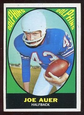 1967 Topps #79 - Joe Auer - ex