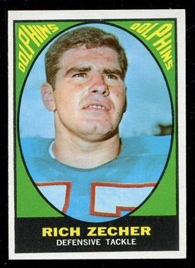 1967 Topps #87 - Rich Zecher - exmt