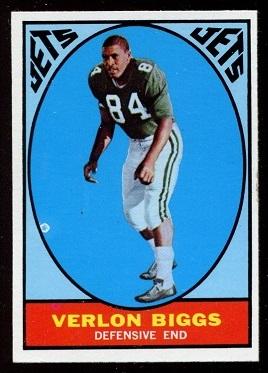 1967 Topps #91 - Verlon Biggs - nm
