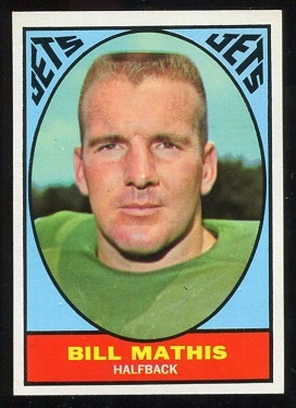 1967 Topps #96 - Bill Mathis - nm