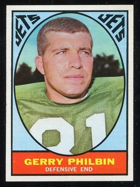 1967 Topps #99 - Gerry Philbin - nm