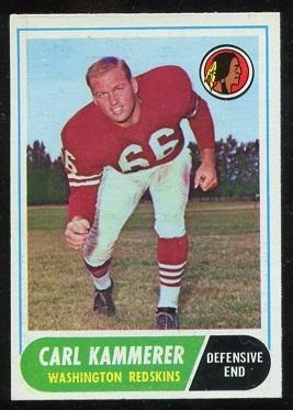 1968 Topps #10 - Carl Kammerer - nm