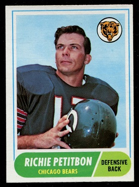 1968 Topps #101 - Richie Petitbon - nm