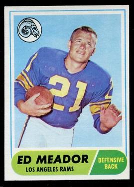 1968 Topps #106 - Ed Meador - nm