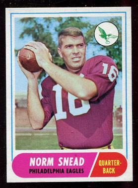 1968 Topps #110 - Norm Snead - nm
