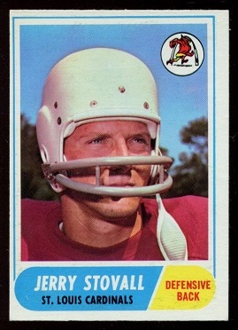 1968 Topps #112 - Jerry Stovall - nm-mt oc