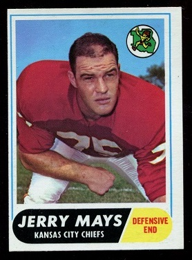 1968 Topps #119 - Jerry Mays - nm-mt oc