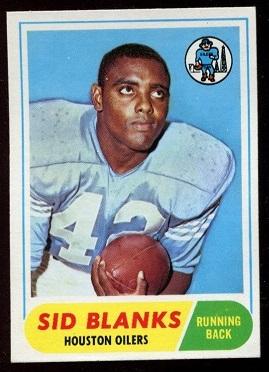1968 Topps #120 - Sid Blanks - nm oc