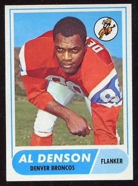 1968 Topps #121 - Al Denson - nm
