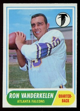 1968 Topps #125 - Ron Vander Kelen - nm-mt
