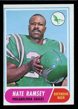 1968 Topps #136 - Nate Ramsey - nm