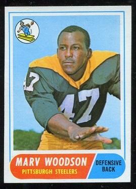 1968 Topps #137 - Marv Woodson - nm