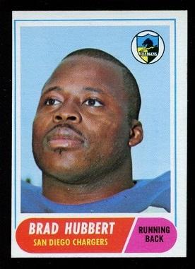 1968 Topps #141 - Brad Hubbert - nm
