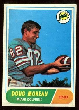 1968 Topps #144 - Doug Moreau - nm